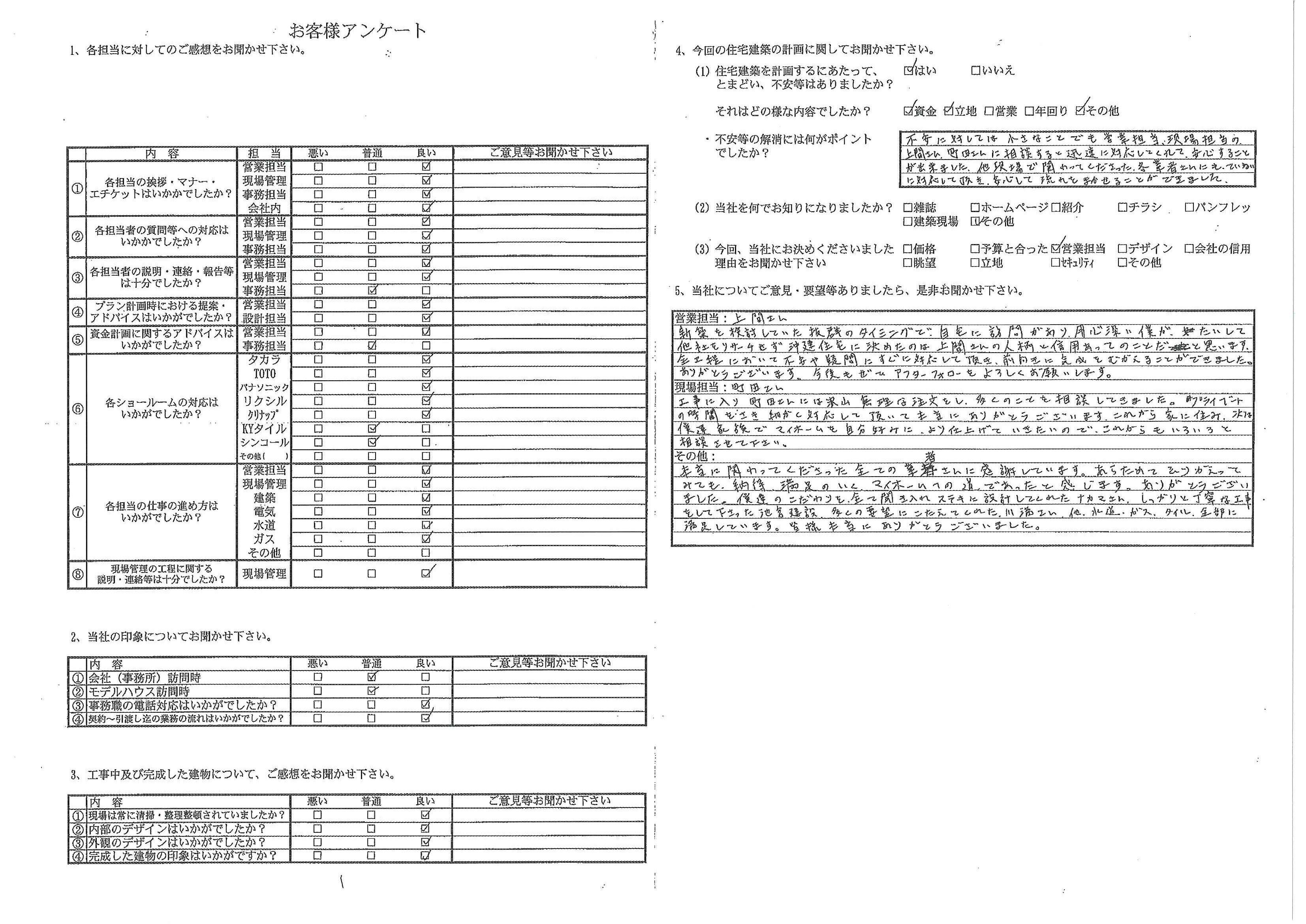 20160302_お客様アンケート