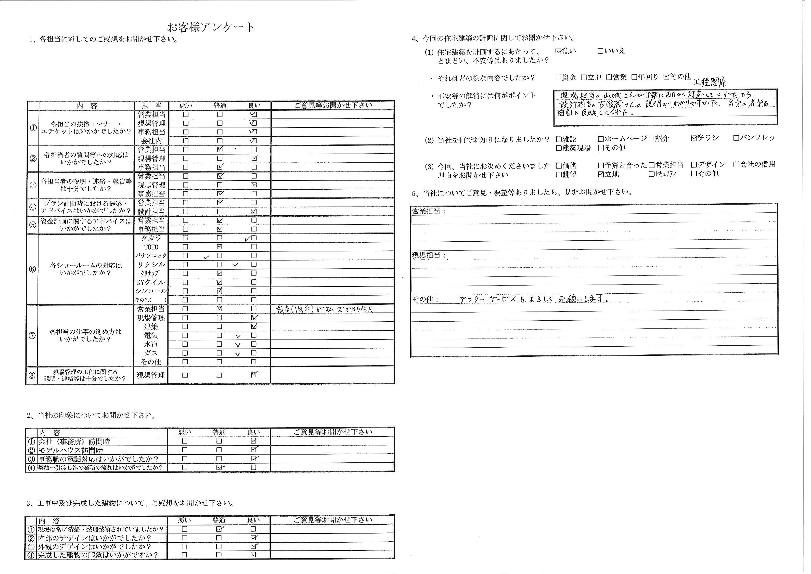 20170403_お客様アンケート