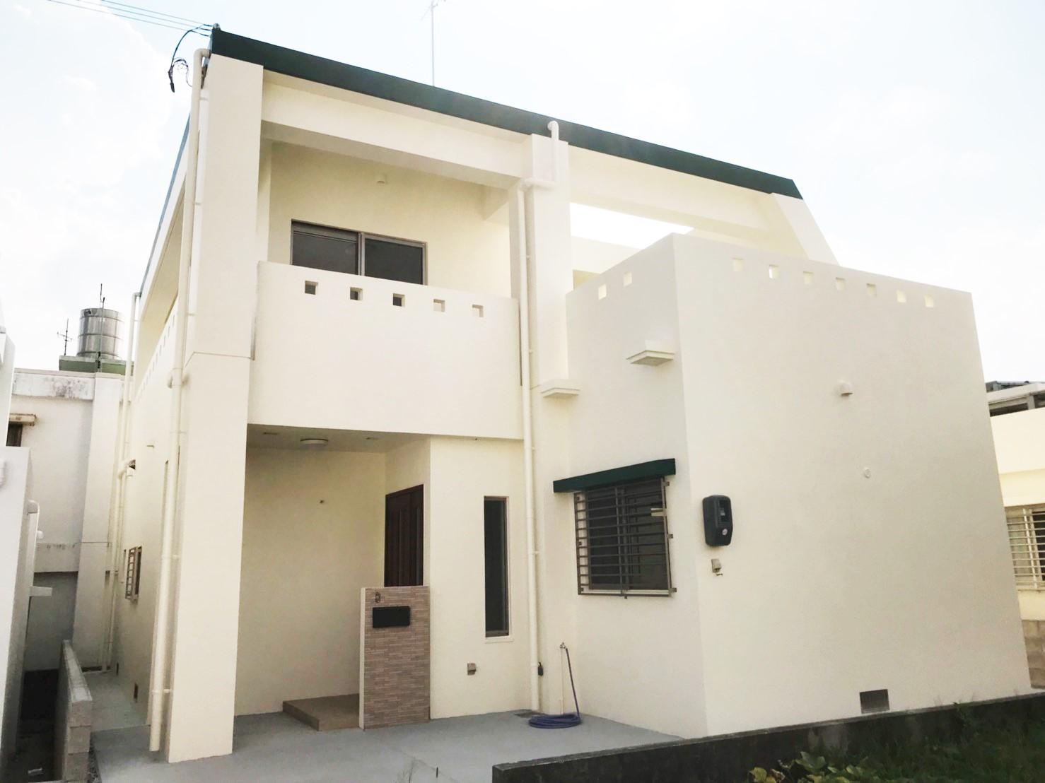 沖縄市古謝津嘉山町にて【素敵なコートハウス】が完成しました☆ オープンハウス&無料住宅相談会を開催!